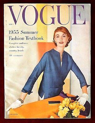 Vogue Magazine ~ May 1, 1955 ~ Horst Leombruno-Bodi Vlaminck Summer Fashion