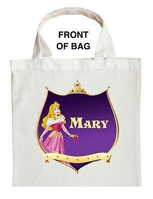 Sleeping Beauty Trick or Treat Bag - Personalized Princess Aurora Halloween Bag