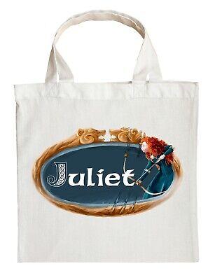 Personalized Halloween Treat Bag (Merida Trick or Treat Bag - Personalized Brave Halloween)