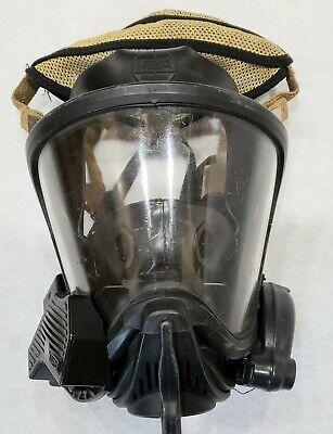 Medium Msa Scba Ultra Elite Full Face Mask With Hud Voice Amplifier