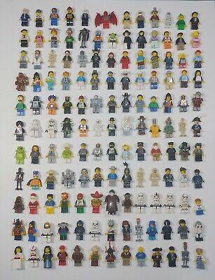 Lego minifigures lot (Used) Random Grab Bag of 10 Figures and 10 Minifgure Items