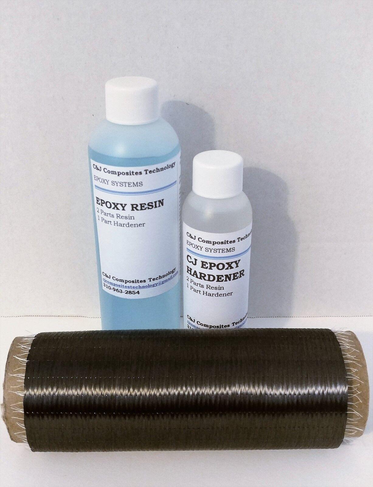 Genuine Carbon Fiber Cloth Uni Repair Kit for added stiffnes