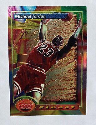 1993-94 Topps Finest #1 Michael Jordan Chicago Bulls