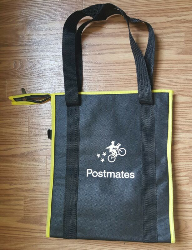 Postmates Insulated Food Delivery Bag - New