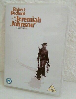 """ROBERT REDFORD AS """"JEREMIAH JOHNSON"""" DVD"""