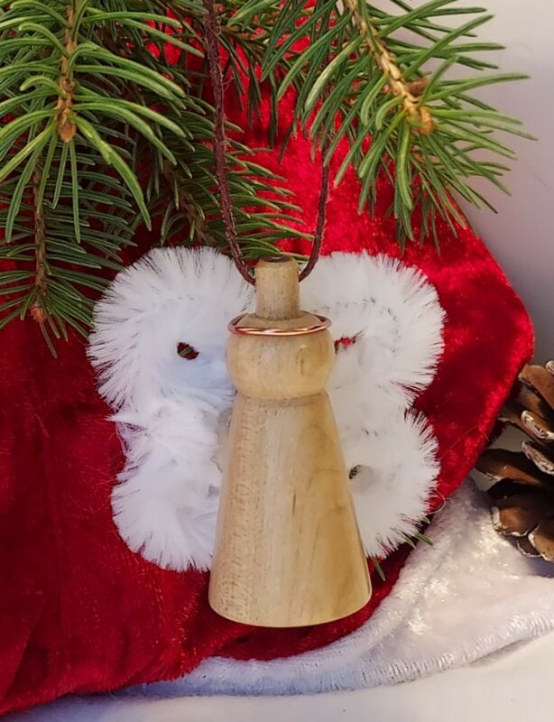 Handcrafted Angel Christmas Decoration