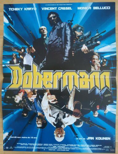 Affiche cinema originale 40/60 dobermann, vincent cassel, tbe