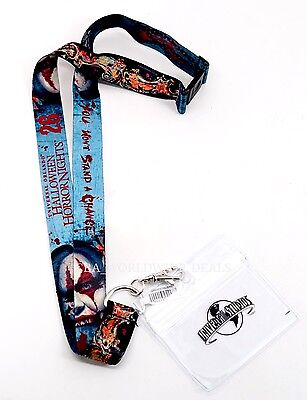 New Universal Orlando Halloween Horror Nights HHN 26 Chance Clown Lanyard 2016 - 26 Halloween