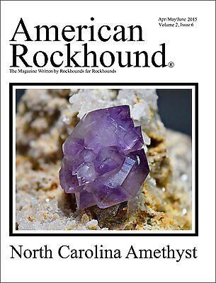 American Rockhound Magazine, Volume 2, Issue 6, NC Amethyst! PRINT version