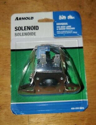Arnold 12-volt Universal Lawn Tractor Solenoid