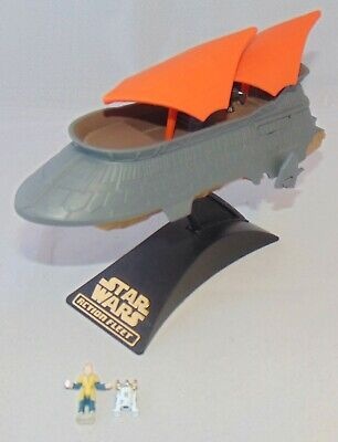 Galoob Star Wars Micro Machines Action Fleet Jabba's Sail Barge With Stand Used