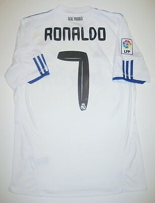 Real Madrid Cristiano Ronaldo Adidas Kit Jersey 2010 Manchester United Portugal