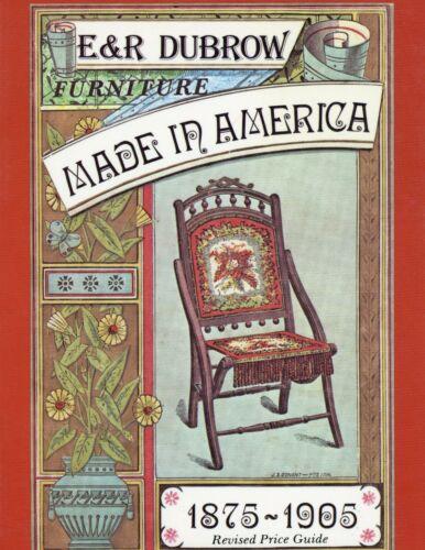 1875-1905 Victorian Furniture – Models Dates Dimensions Etc / Book + Values