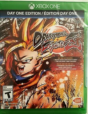 Dragon Ball Fighterz Day One Edition   Xbox One   Brand New Factory Sealed