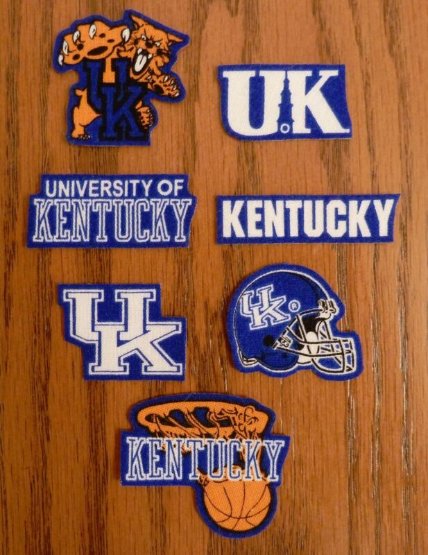 Iron On Sew On Transfer University of Kentucky Fabric Cotton Patches Patch