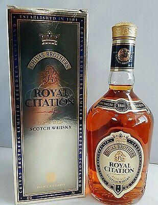 Chivas Brothers Royal Citation Blended Scotch Whisky 0,75 L