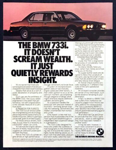 "1983 BMW 733i Luxury Sedan photo ""It"