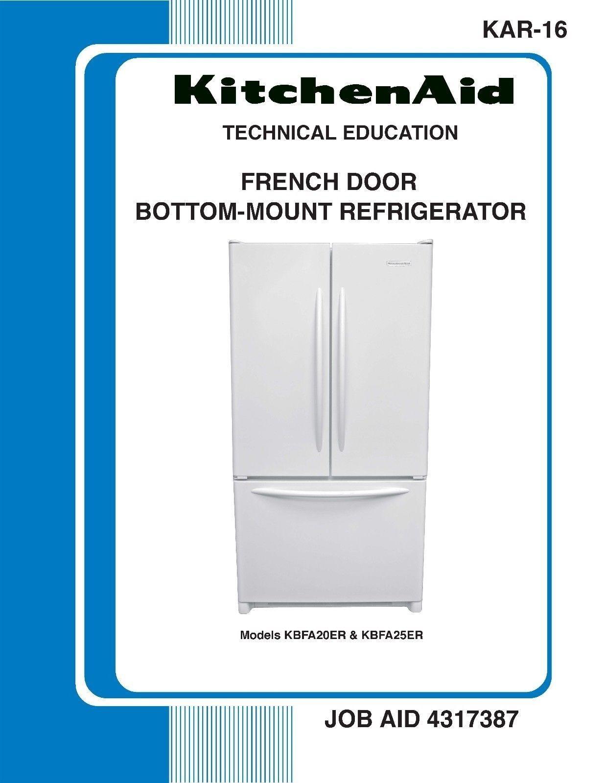 Kitchenaid Fridge Service Manual - Kitchen Design