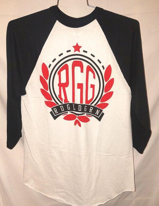 RDGLDGRN T-Shirt  RGG Official BAND Merchandise 2013 Raglan Jersey New