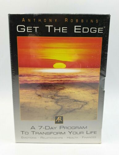 NEW Anthony Robbins GET THE EDGE 7 Day Program Transform Your Life 10 Audio CDs