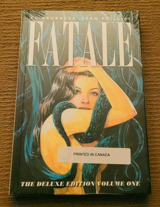 Fatale Deluxe Edition Volume 1 Hardcover HC Ed Brubaker Sean Phillips Image OOP