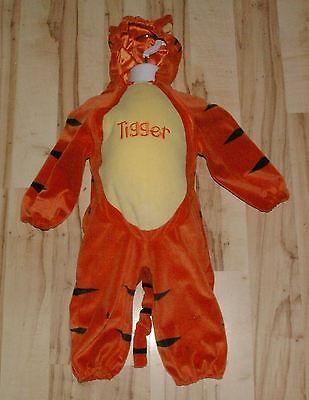 Infant Tigger Costume (Baby Infant Boys Girls DISNEY STORE Tigger Costume Stuffed Tummy Size 6M -)