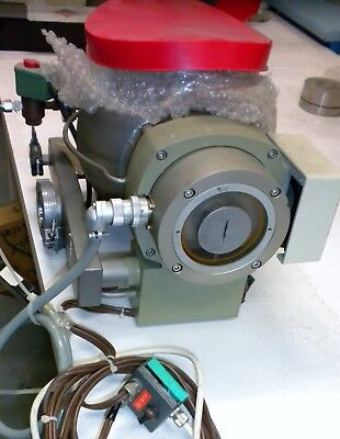 Pfeiffer Balzers Turbomolecular High Vacuum Pump Model Tph 510 Air Cooling