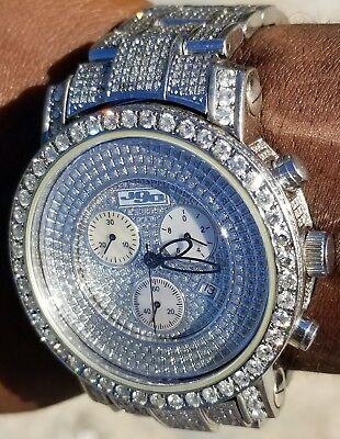 MENS Joe Rodeo JOJO 16.00 CARATS Diamond Watch Benny Co