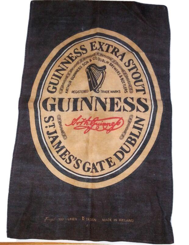 Guinness Bar Towel Linen