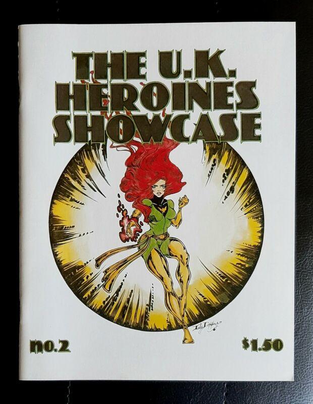 UK Heroines Showcase 2 X-Men PHOENIX COVER Lela Dowling Marvel Comics Fanzine