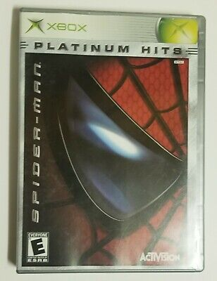 Spiderman: Platinum Hits (Microsoft Xbox) Complete with Manual