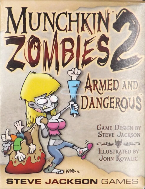 Munchkin Zombies 2:Expansion Pack Steve Jackson Game NEW