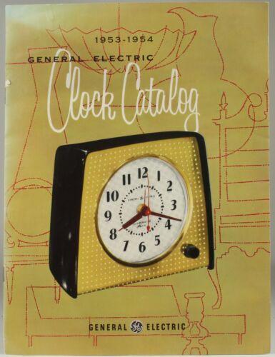 1953-1954 General Electric GE CLOCK CATALOG - MCM Design