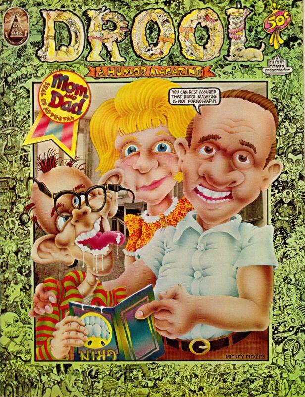 Drool Humor Magazine No. 1, 1972, the Co. & Sons, San Francisco