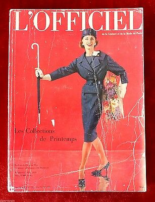 L'Officiel Paris Magazine ~ #443/444 03/1959 ~ Spring Collections Arsac