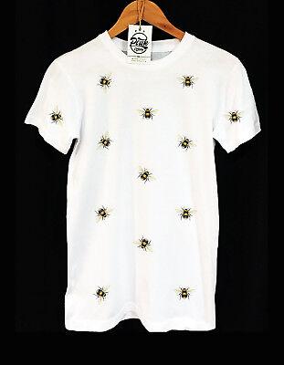 BUMBLE BEE PATTERN T-SHIRT - SWAG - ANIMAL -  HIPSTER - UNISEX - PEAK - Bumble Bee Tshirt