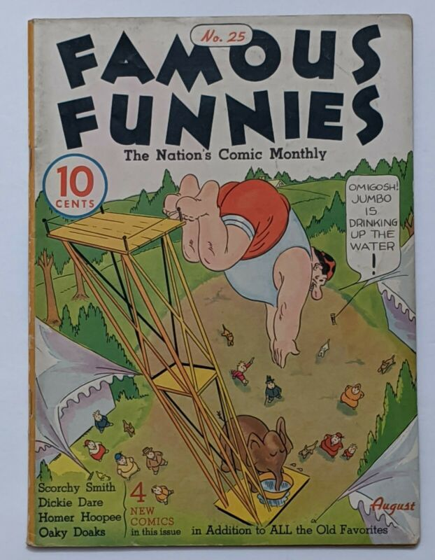 Famous Funnies #25 (Aug 1936, Eastern Color) FN- 5.5