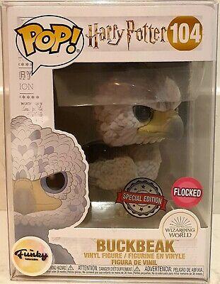 Funko POP!: Harry Potter: Buckbeak Flocked Exclusivo