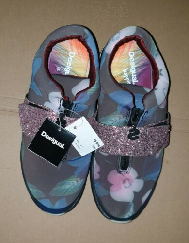 UNPAAR Damen Sneaker Turnschuhe von Desigual/Urban⭐Größe Rechts 38/Links 39⭐Neu