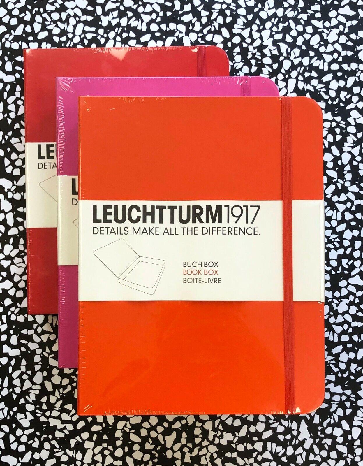 Brand New Leuchtturm Book Box -- great for office supplies o