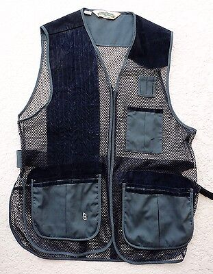 TRAP/SKEET/SPORTING CLAYS SHOOTING VEST - FULL MESH - XL - Right hand