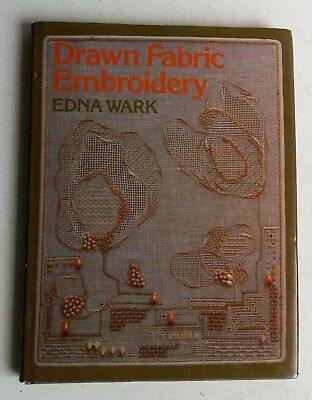 DRAWN FABRIC EMBROIDERY Wark UK Book HCDJ History Museums Design Panel Stitches