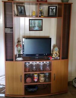 TV Cabinet with CD Holders