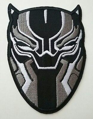 Black Panther Iron-on Patch Marvel Comics Wakanda Avengers Applique T'challa