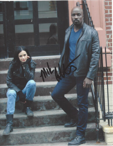 MIKE COLTER SIGNED AUTHENTIC 'LUKE CAGE' 8X10 PHOTO B w/COA JESSICA JONES ACTOR