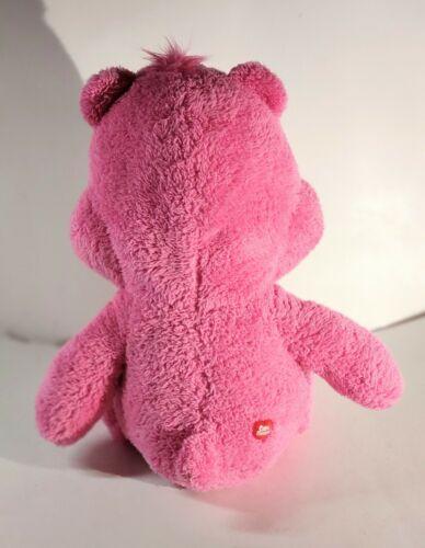 Just Play 2018 Care Bears Cheer Bear Plush 20 Tall Glitter Eyes - $38.00