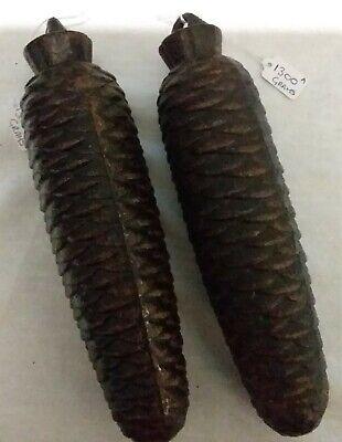 2 x 1300g Black Forest Cuckoo Clock Cone Weights