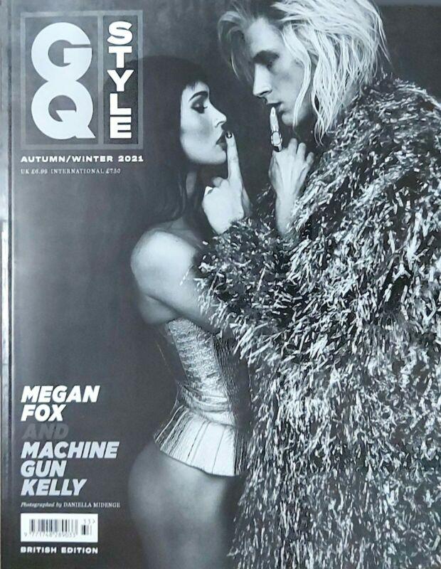 GQ STYLE UK Magazine Autumn /Winter 2021 #Megan Fox and Machine Gun Kelly