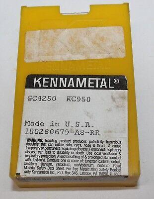 Kennametal Carbide Inserts Gc4250 Kc950 Lot Of 4