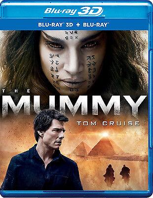 The Mummy  Blu Ray 3D   Blu Ray   2017   3D 2D   All Region   New